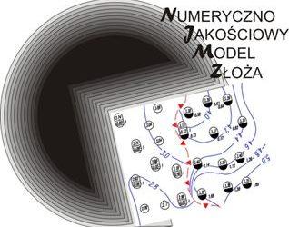 """TANGO """"Numeryczny model złoża oparty naparametrach jakościowych węgli kamiennych""""."""
