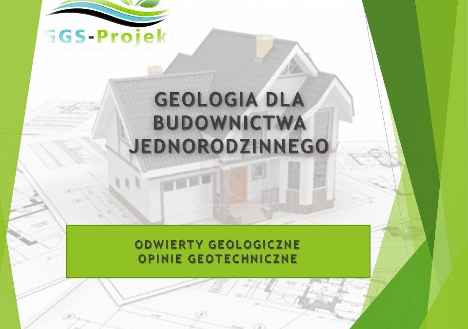 Geologia dla budownictwa jednorodzinnego